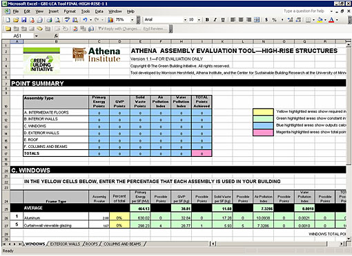 ATHENA Assembly Evaluation Tool